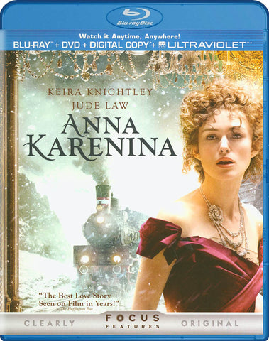 Anna Karenina (Blu-ray + DVD + Digital Copy + UltraViolet) DVD Movie