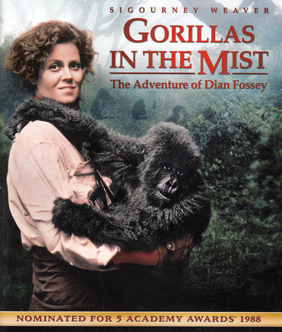 Gorillas in the Mist (Blu-ray) BLU-RAY Movie
