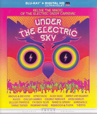 Under the Electric Sky (Blu-ray + DIGITAL HD UltraViolet) DVD Movie