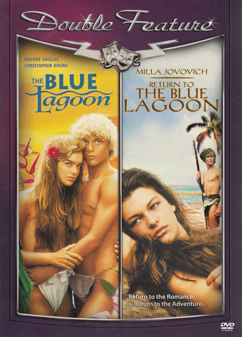 Blue Lagoon/ Return to the Blue Lagoon (Double Feature) (Slipcover) DVD Movie