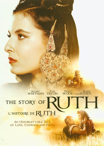 The Story of Ruth (White cover)(Bilingual) DVD Movie