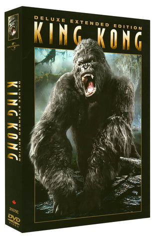 King Kong - Deluxe Extended Edition (Boxset) (CA Version) DVD Movie
