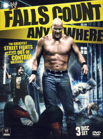 WWE - Falls Count Anywhere (Boxset) DVD Movie
