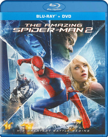 The Amazing Spider-Man 2 (Blu-ray/DVD/UltraViolet Combo Pack) (Blu-Ray) BLU-RAY Movie