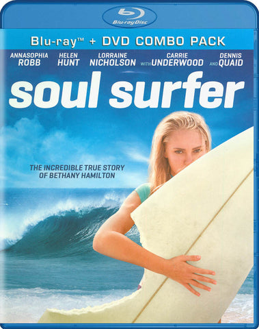 Soul Surfer (Two-Disc Blu-ray/DVD Combo) (Blu-ray) BLU-RAY Movie