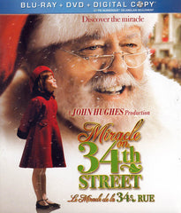 Miracle On 34th Street (bilingual) (Blu-ray + DVD + Digital Copy) (Blu-ray)