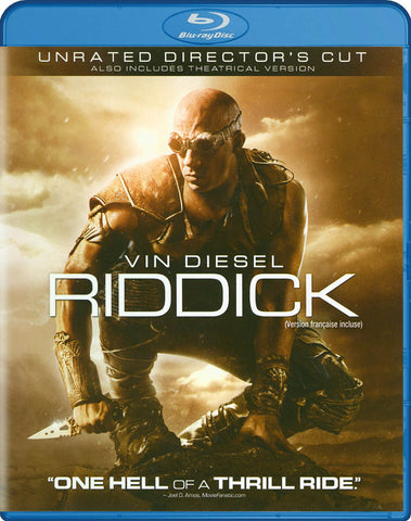 Riddick (Unrated Director s Cut) (Blu-ray) (Bilingual) BLU-RAY Movie