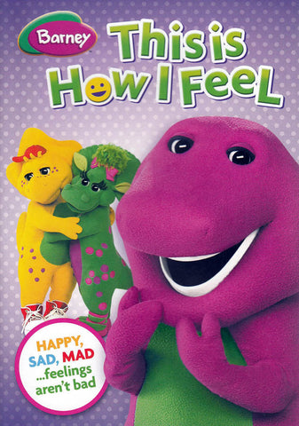 Barney: This Is How I Feel DVD Movie