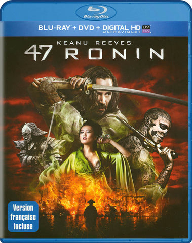 47 Ronin [Blu-ray + DVD + UltraViolet (Bilingual) (blu-ray) BLU-RAY Movie