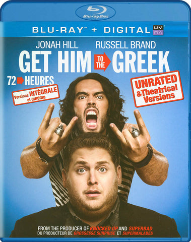 Get Him to the Greek / 72 heures (Bilingual) (Blu-ray) BLU-RAY Movie