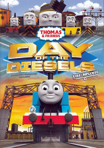 Thomas And Friends: Day Of The Diesel: The Movie (Bilingual) DVD Movie