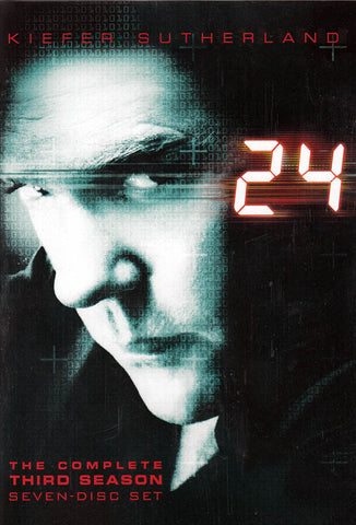 24 - The Complete Third (3) Season (Boxset) (Bilingual) DVD Movie
