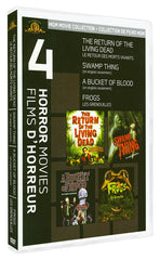 Return Of The Living Dead/Swamp Thing/Bucket Of Blood/Frogs (Boxset) (Bilingual)