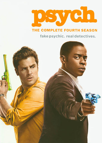 Psych - Season 4 (Keepcase) DVD Movie