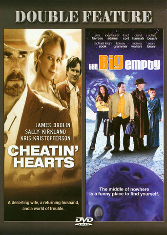 Cheatin' Hearts / The Big Empty (Double Feature) DVD Movie