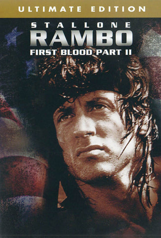 Rambo - First Blood (Part 2) (Ultimate Edition) DVD Movie
