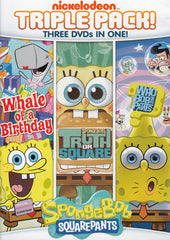 Spongebob Squarepants: Triple Pack - (Whale of a Birthday / Truth or Square / Who Bob What Pants)