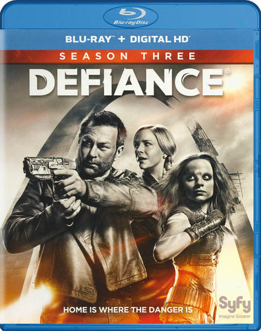 Defiance: Season 3 (Blu-ray + Digital HD) (Blu-ray) BLU-RAY Movie