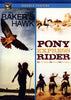 Baker's Hawk / Pony Express Rider (Double Feature) DVD Movie