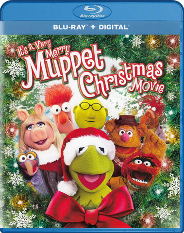 It s a Very Merry Muppet Christmas Movie (Blu-ray + Digital) (Blu-ray) BLU-RAY Movie