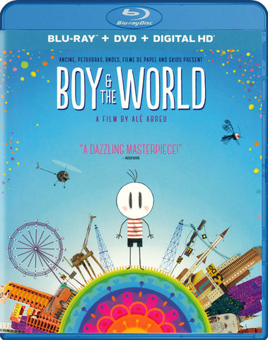 Boy & the World (Blu-ray + DVD + Digital HD) (Blu-Ray) BLU-RAY Movie