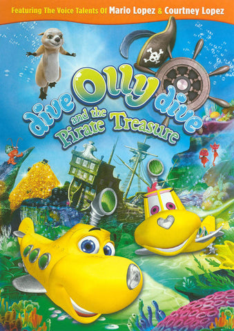 Dive Olly Dive and the Pirate Treasure DVD Movie