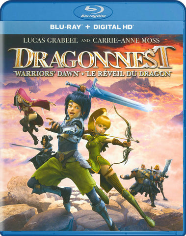 Dragon Nest: Warriors' Dawn (Blu-ray + Digital HD) (Bilingual) (Blu-ray) BLU-RAY Movie