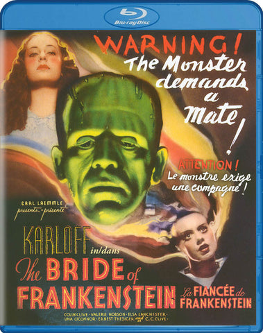 The Bride of Frankenstein (Bilingual) (Blu-ray) BLU-RAY Movie
