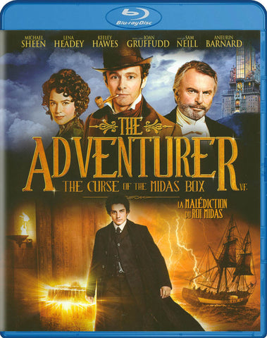 The Adventurer: The Curse of the Midas Box (Bilingual) (Blu-ray) BLU-RAY Movie