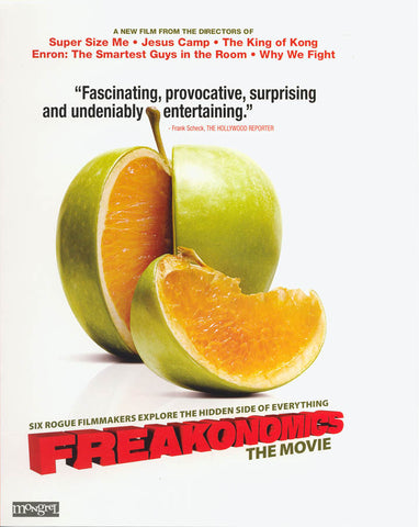 Freakonomics - The Movie DVD Movie