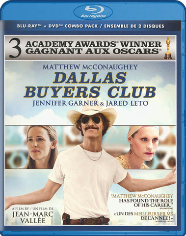 Dallas Buyers Club (Blu-ray + DVD) (Blu-ray) (Bilingual) BLU-RAY Movie