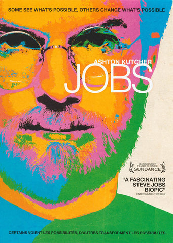 Jobs (Ashton Kutcher) (Bilingual) DVD Movie