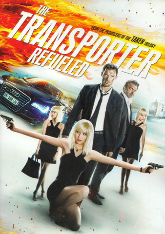 The Transporter Refueled DVD Movie
