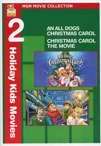 MGM 2 Holiday Kids Movies (An All Dogs Christmas Carol / Christmas Carol - The Movie) DVD Movie