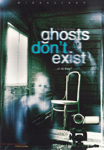 Ghosts Don't Exist DVD Movie