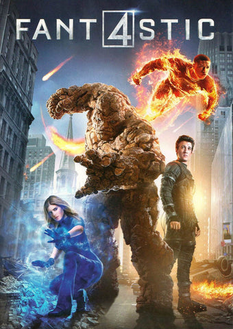 Fantastic Four (2015) DVD Movie