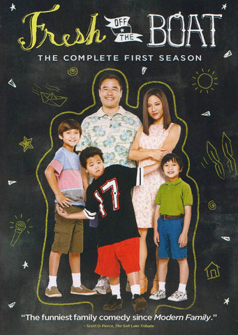 Fresh off the Boat - Season 1 DVD Movie