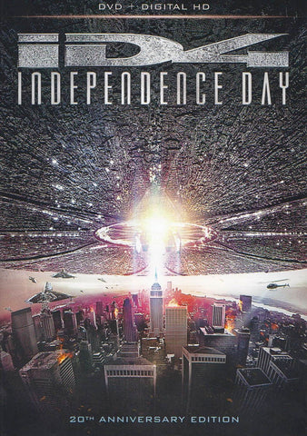Independence Day (DVD + Digital HD) (20th Anniversary Edition) DVD Movie
