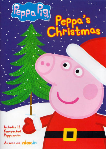 Peppa Pig - Peppa's Christmas DVD Movie