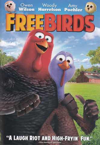 Free Birds DVD Movie