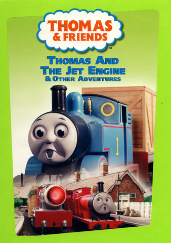 Thomas And Friends - Thomas and The Jet Engine And Other Adventures (LG) DVD Movie