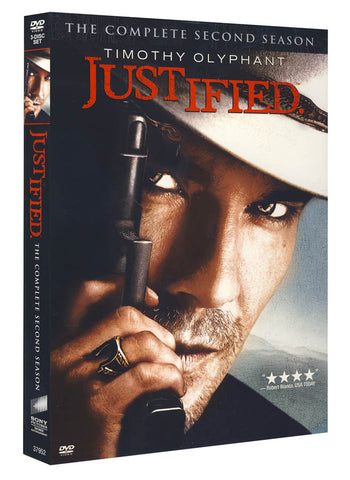 Justified - The Complete Second (2) Season (Boxset) DVD Movie