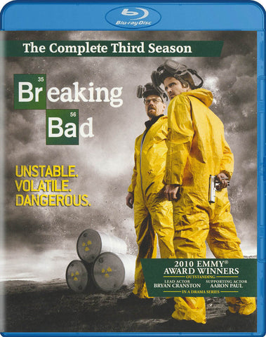 Breaking Bad - The Complete Third Season (Blu-ray) BLU-RAY Movie