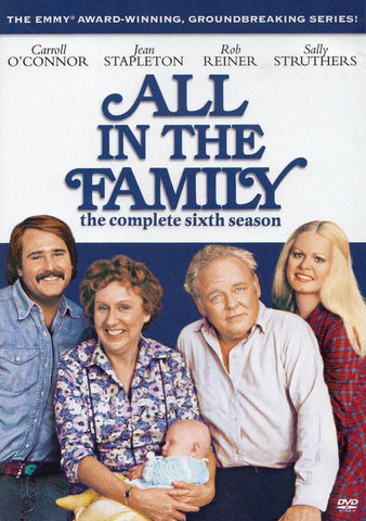 All In The Family - The Complete Sixth (6th) Season (Keepcase) DVD Movie