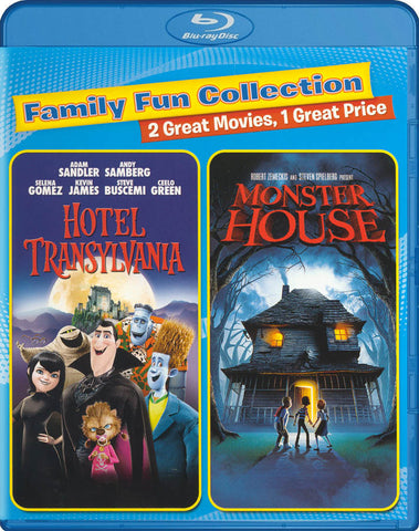 Hotel Transylvania / Monster House (Family Fun Collection) (Blu-ray) BLU-RAY Movie