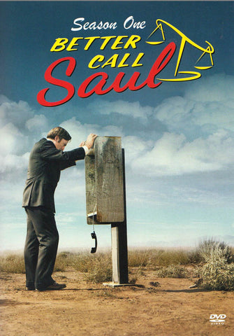 Better Call Saul: Season One DVD Movie
