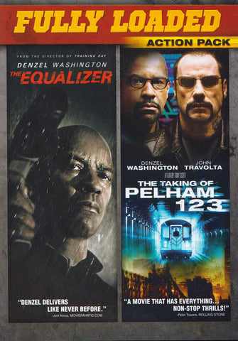 Equalizer / The Taking of Pelham 1 2 3 (Fully Loaded Action Pack) DVD Movie