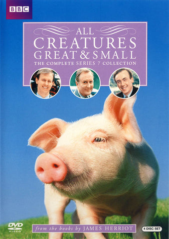 All Creatures Great & Small: The Complete Series 7 Collection (Boxset) DVD Movie