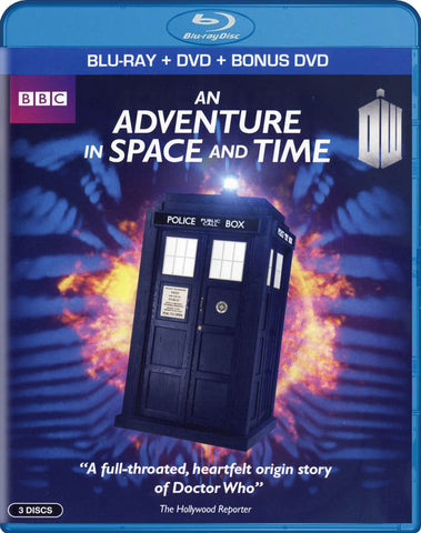 Doctor Who - An Adventure in Space and Time (Blu-ray + DVD + Bonus DVD) (Blu-ray) BLU-RAY Movie