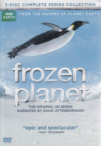 Frozen Planet (3-Disc Complete Series Collection) (Boxset) DVD Movie